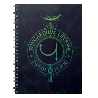Harry Potter Spell | Wingardium Leviosa Graphic Note Book