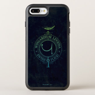 Harry Potter Spell | Wingardium Leviosa Graphic OtterBox Symmetry iPhone 8 Plus/7 Plus Case