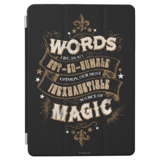 Harry Potter Spell | Words Are Our Most Inexhausti iPad Air Cover