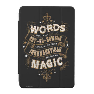 Harry Potter Spell | Words Are Our Most Inexhausti iPad Mini Cover