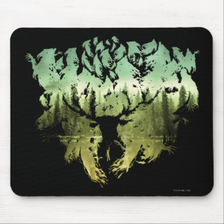 HARRY POTTER™ Stag Patronis Mouse Pad