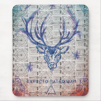 Harry Potter | Stag Patronus Sketch Mouse Pad