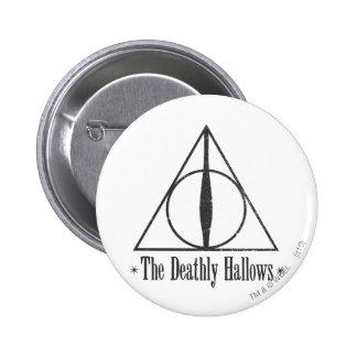 Harry Potter | The Deathly Hallows Emblem 6 Cm Round Badge