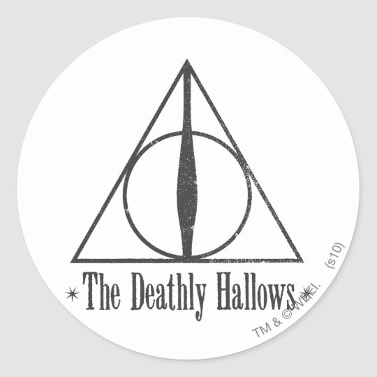 Harry Potter   The Deathly Hallows Emblem Classic
