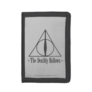 Harry Potter | The Deathly Hallows Emblem Trifold Wallet