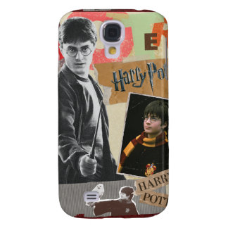 Harry Potter Then and Now Galaxy S4 Case