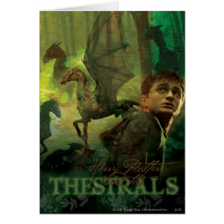 Harry Potter Thestrals Greeting Card