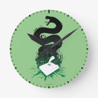 Harry Potter | Tom Riddle's Diary Graphic Round Clock