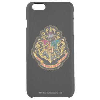 Harry Potter | Vintage Hogwarts Crest Clear iPhone 6 Plus Case