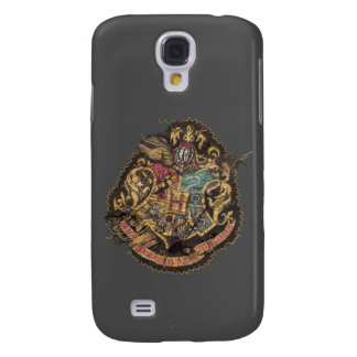 Harry Potter | Vintage Hogwarts Crest Galaxy S4 Case