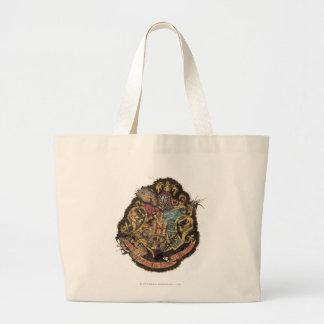 Harry Potter | Vintage Hogwarts Crest Large Tote Bag