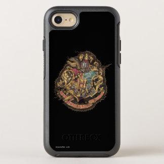 Harry Potter | Vintage Hogwarts Crest OtterBox Symmetry iPhone 8/7 Case