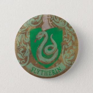 Harry Potter | Vintage Slytherin 6 Cm Round Badge