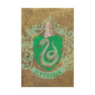Harry Potter | Vintage Slytherin Canvas Print