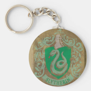 Harry Potter | Vintage Slytherin Key Ring