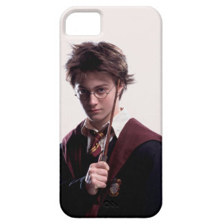 Harry Potter Wand Raised iPhone 5 Cases