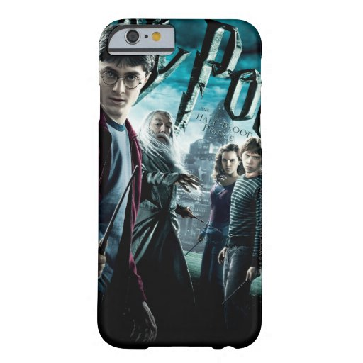 Harry Potter With Dumbledore Ron and Hermione 1 Barely There iPhone 6 Case