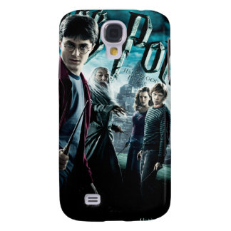 Harry Potter With Dumbledore Ron and Hermione 1 Galaxy S4 Case