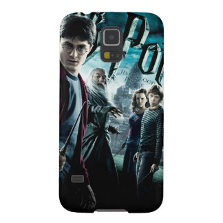 Harry Potter With Dumbledore Ron and Hermione 1 Galaxy S5 Case