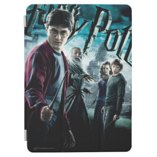 Harry Potter With Dumbledore Ron and Hermione 1 iPad Air Cover