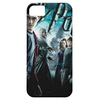 Harry Potter With Dumbledore Ron and Hermione 1 iPhone 5 Cases