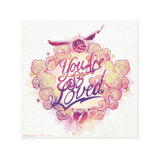 Harry Potter | You Are So Loved Canvas Print