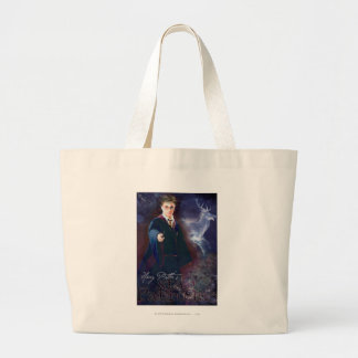 Harry Potter's Stag Patronus Large Tote Bag