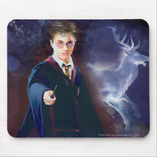 Harry Potter's Stag Patronus Mouse Mat