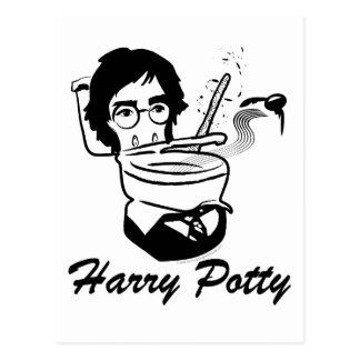 Harry Potty Postcard