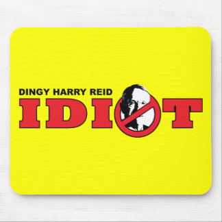 Harry Reid is an Idiot Mouse Pads