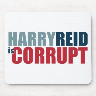 Harry Reid is Corrupt Mouse Pads