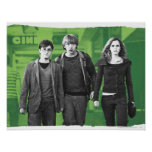 Harry, Ron, and Hermione 1 Posters