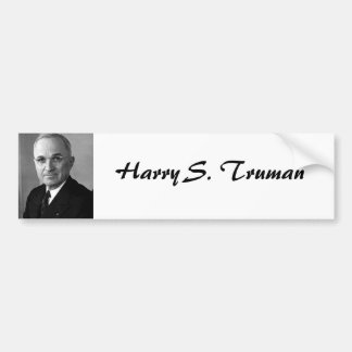 Harry S. Truman 33 Bumper Sticker