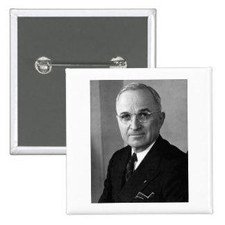 Harry S. Truman 33rd President 15 Cm Square Badge