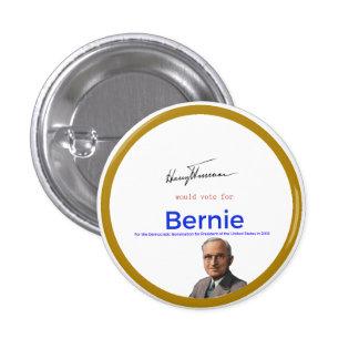 Harry S Truman for Bernie Sanders 3 Cm Round Badge