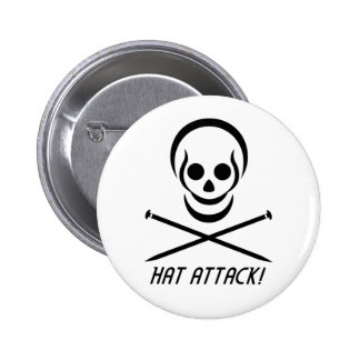 Harry the Happy Hat Assassin Button