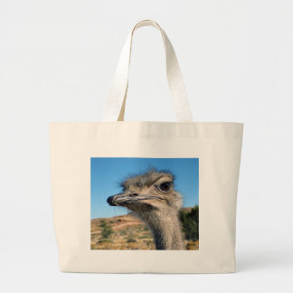 Harry the Happy Ostrich Large Tote Bag