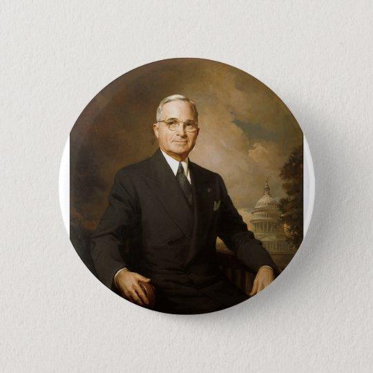Harry Truman 6 Cm Round Badge