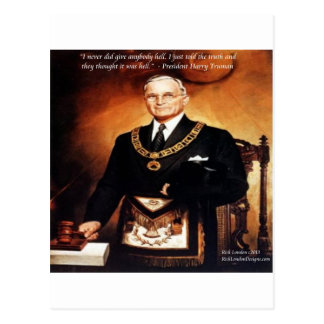 Harry Truman Didn t Give Em Hell Quote Post Cards