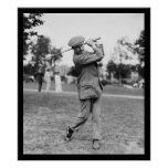 Harry Vardon, Six Time US Open Golf Champion 1914 Poster
