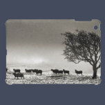 Harsh Winter iPad Mini Cover - Monochrome