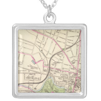 Hartford, Central Silver Plated Necklace