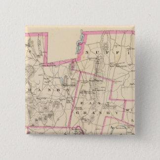 Hartford Co N 15 Cm Square Badge