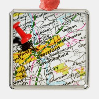 Hartford, Connecticut Christmas Ornament