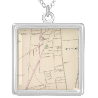 Hartford, Connecticut Silver Plated Necklace