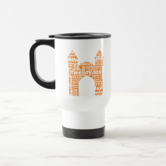 Hartford Marathon: Arch Travel Mug