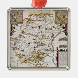 Hartfordshire and the situation of Hartford Christmas Ornament