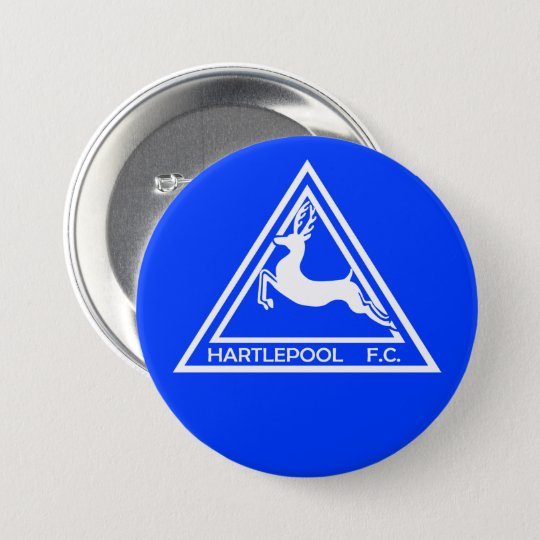 Hartlepool United 70's Logo Button