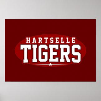 Hartselle High School; Tigers Print