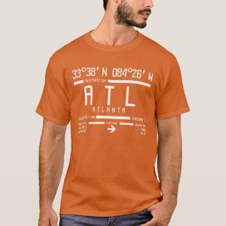 Hartsfield-Jackson Atlanta ATL Airport Code T-Shirt